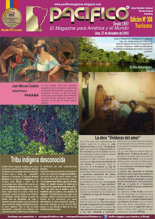 Revista Pacífico Nº 308 Turismo