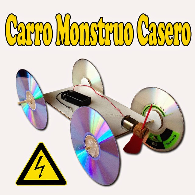 Carro Eléctrico Aerodeslizado Casero