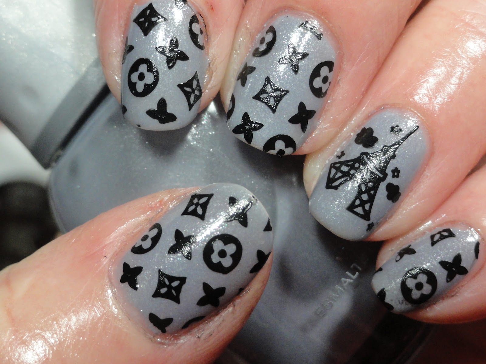 Canadian Nail Fanatic: Louis Vuitton Nails