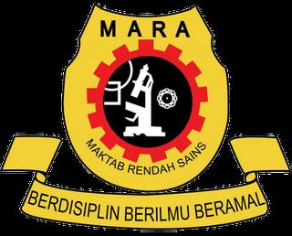 Permohonan Kemasukan MRSM Tingkatan Satu 2013