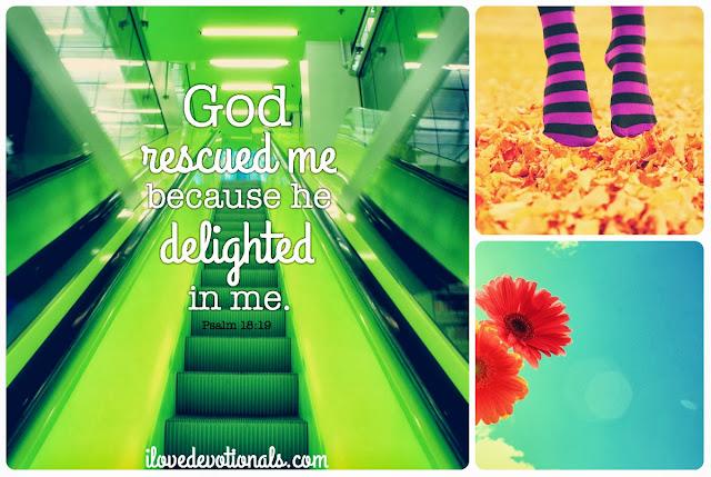 Psalm 18 verse 19