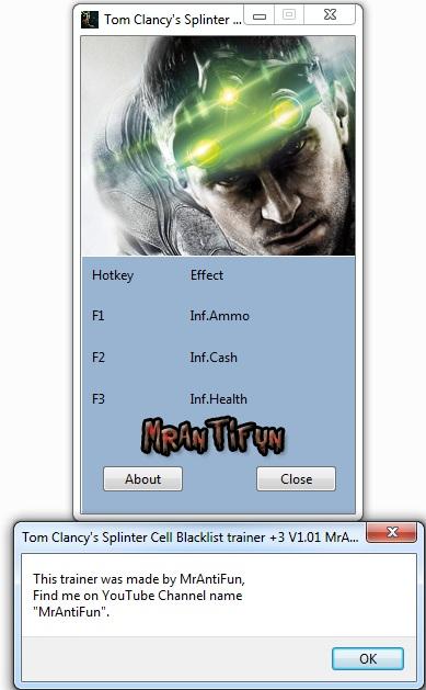 скачать трейнер на игру Splinter Cell Blacklist - фото 8