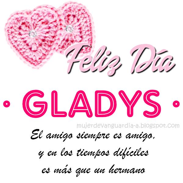 Happy Birthday Gladys Cake