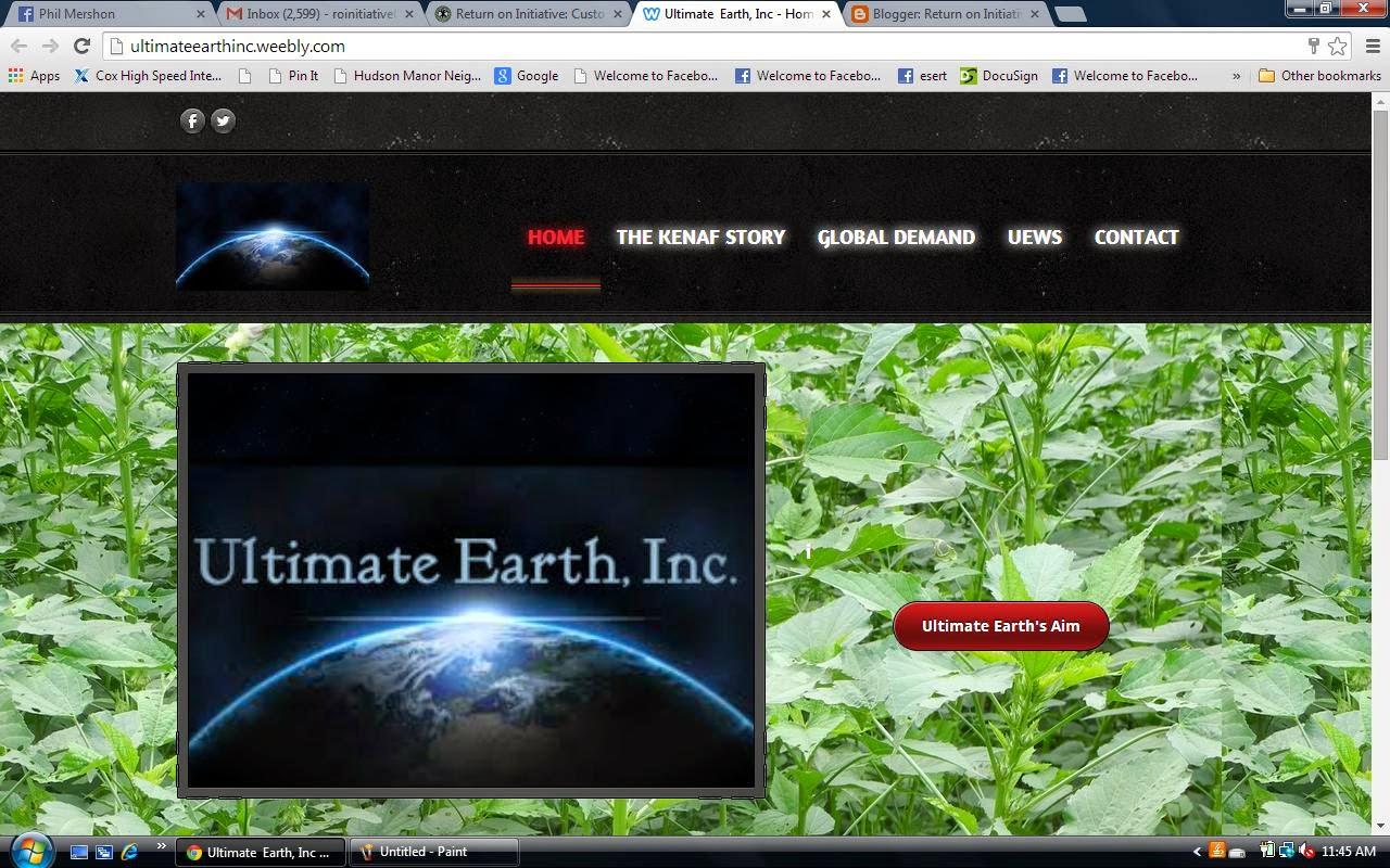 Ultimate Earth, Inc
