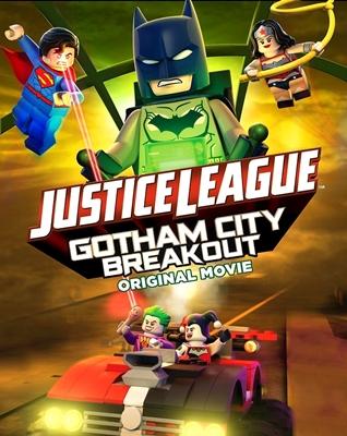 LEGO Liga da Justiça Fuga em Massa em Gotham City - Dublado