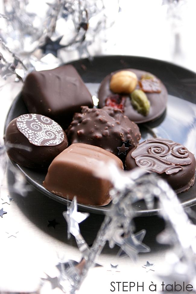 Mon atelier chocolats de Noël ou Stephanie au pays des merveilles | Stephatable