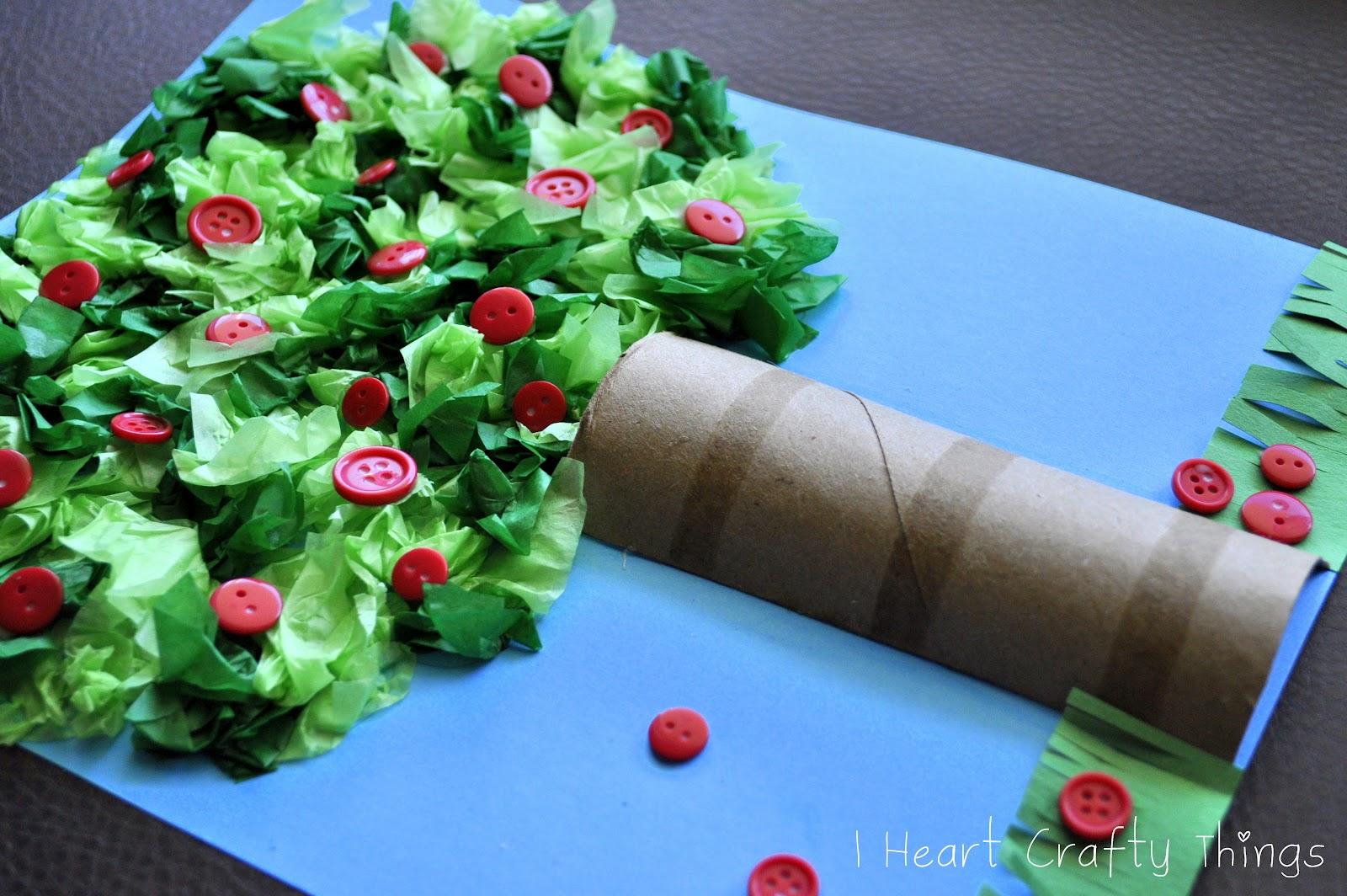 Apple Tree Craft | I Heart Crafty Things