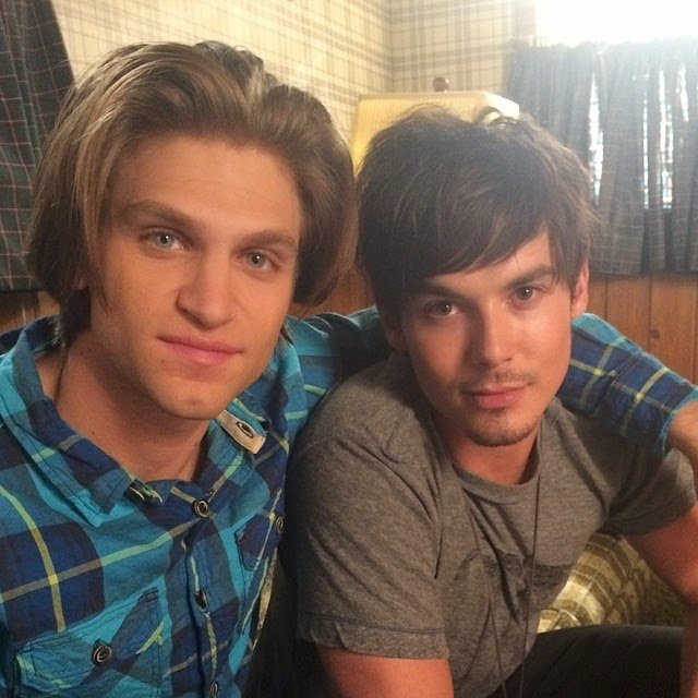 Keegan Allen and Tyler Blackburn