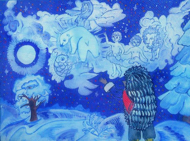 Сказки Леса: Ёжик и волшебная ночь - звезды шлют привет