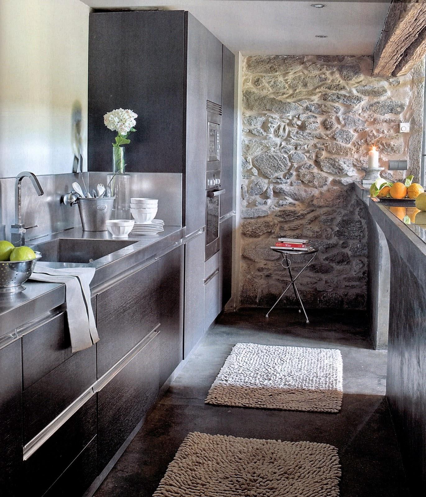 Trendy pareti in geopietra pareti in legno e pietra parete - Parete rivestita in pietra ...