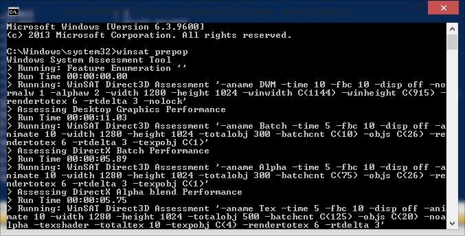 Cara Melihat Windows Experience Index di Windows 8.1