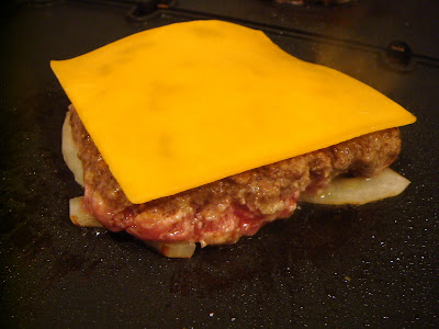 how to cook frozen burgers on a griddle