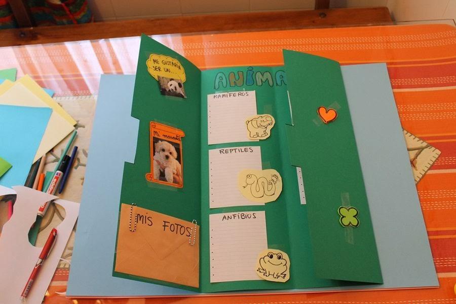 Maestra de primaria c mo hacer un lapbook paso a paso for Mural de fotos en cartulina