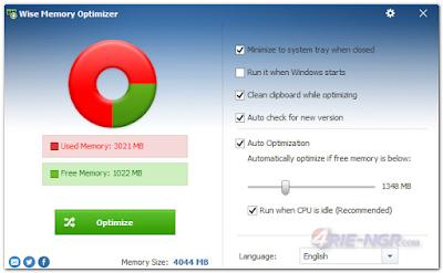 Wise Memory Optimizer 3.43.94 Final Terbaru
