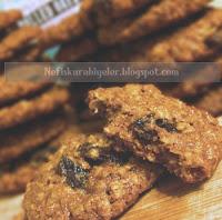 üzümlü kepekli kurabiye