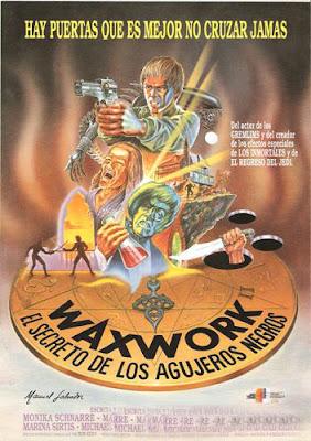 Waxwork II (El misterio de los agujeros negros), Anthony Hickox