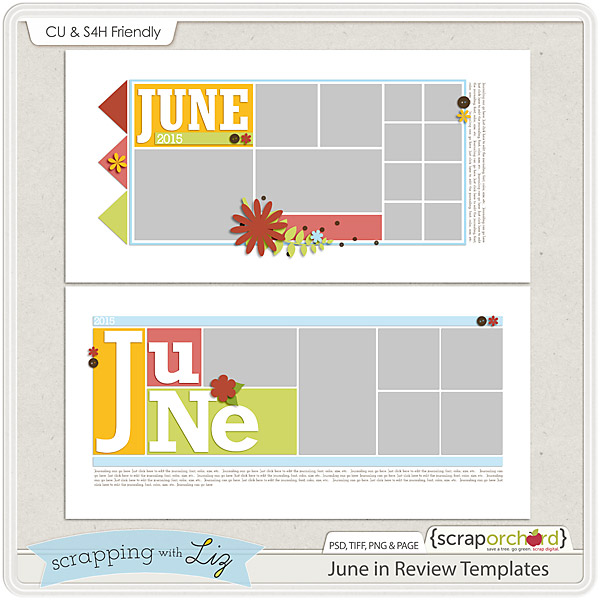 http://scraporchard.com/market/June-in-Review-Digital-Scrapbook-Templates.html