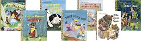 children's book cover art decor - little golden books