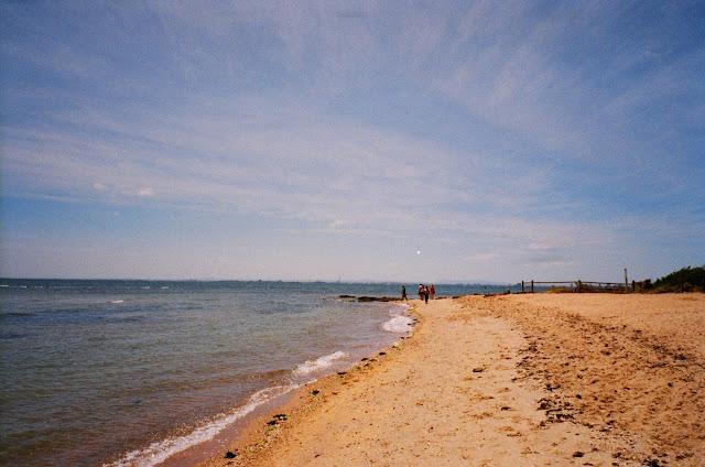 Brighton Beach Melbourne film photography fujifilm natura classica