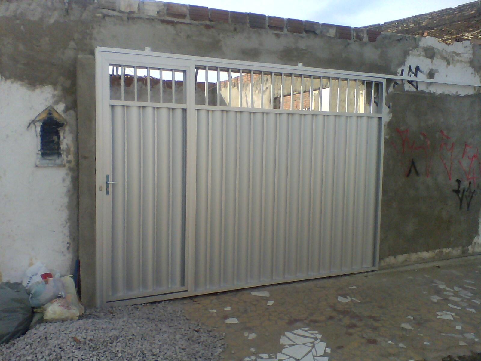 #567572 METALPLAST Esquadrias Forros e Divisórias: Portão em Alumínio 4414 Janela Aluminio Maxim Ar Serie 25