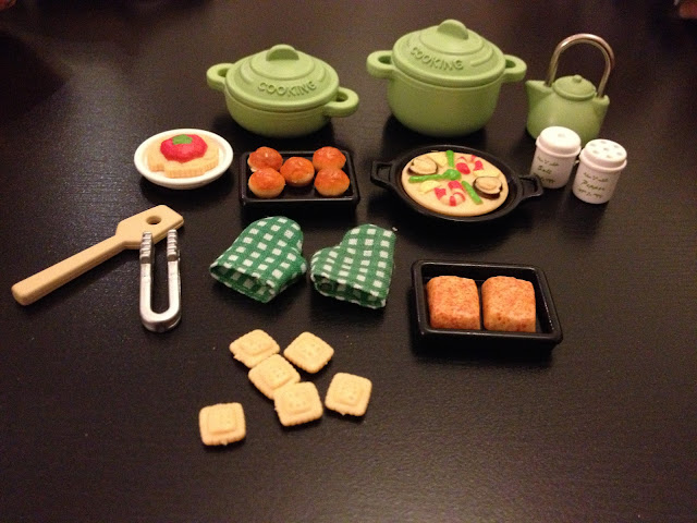 Sylvanian Families Japanese JP Kitchen Cookery Set