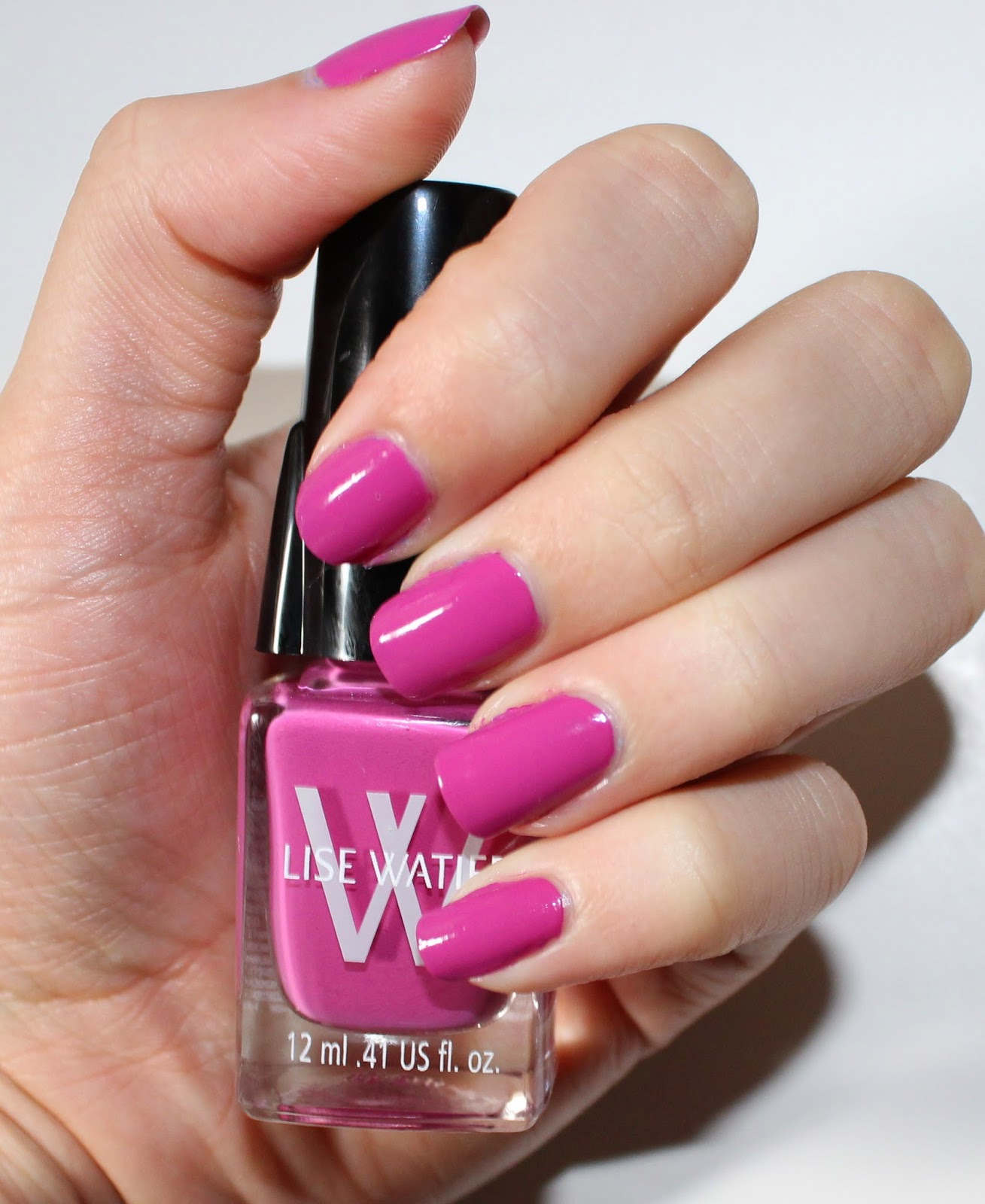 Lise Watier Light Cap Nail Lacquer in Rose Eden