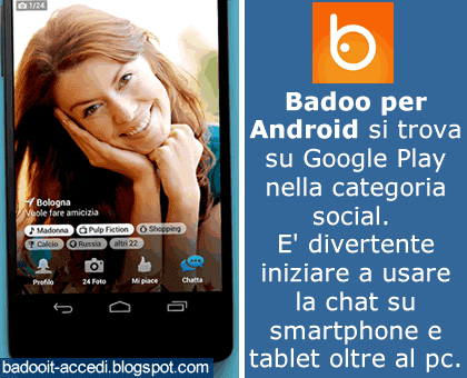 cancellare account badoo chat nirvam è gratis