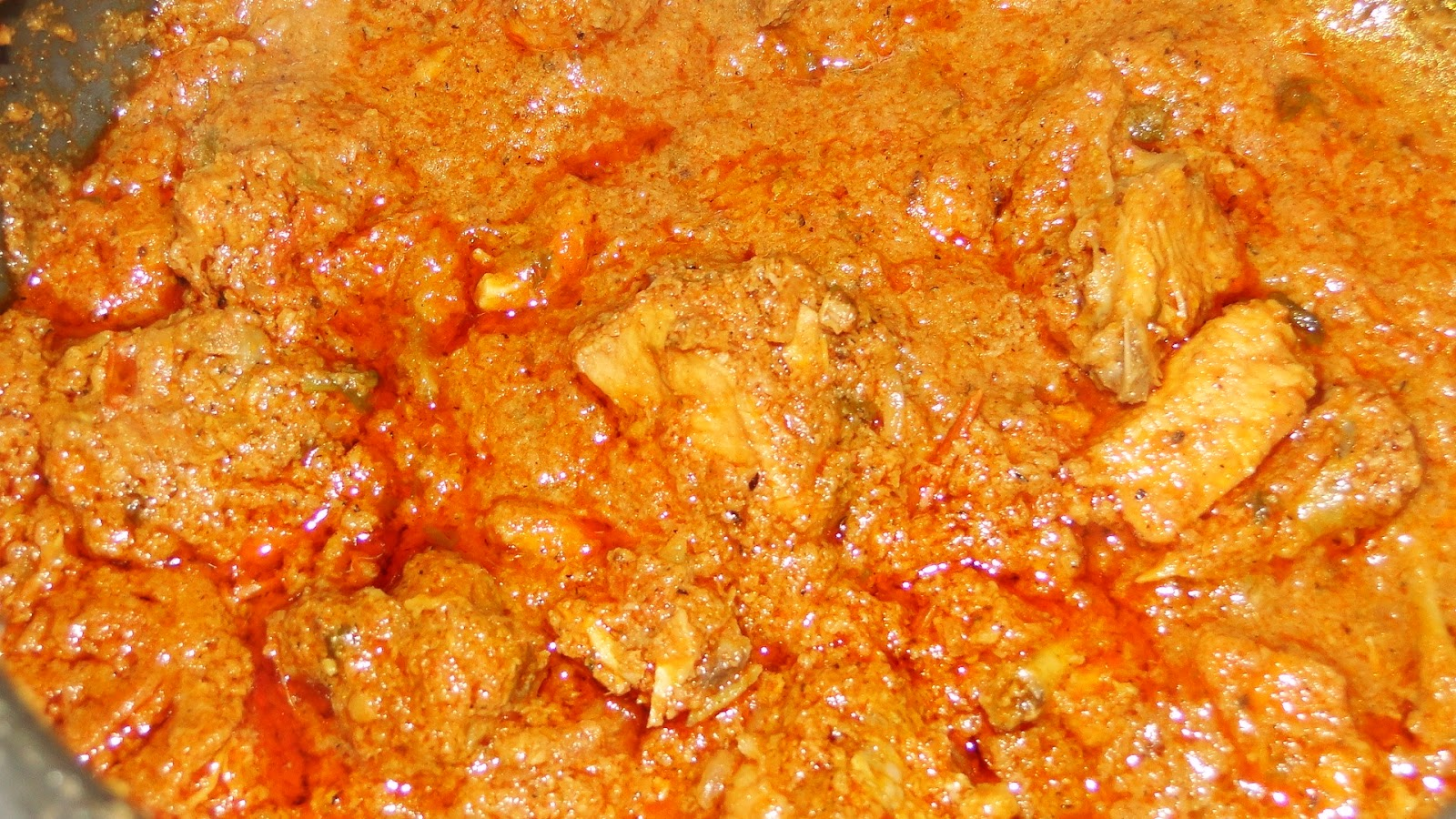 RAMADEVI RECIPES: Chicken curry / kodi koora - Andhra Style