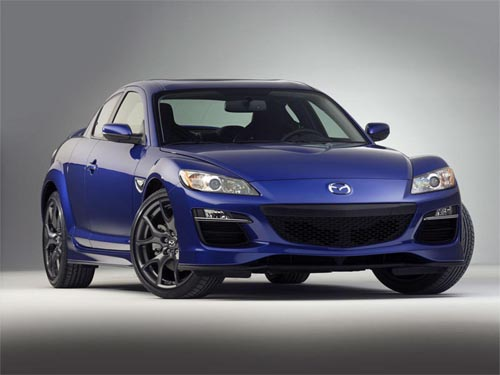 Mazda Updated Version Of The Sports Coupe RX-8,