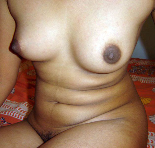 Classy Bhabhi Brown Nipple Photo
