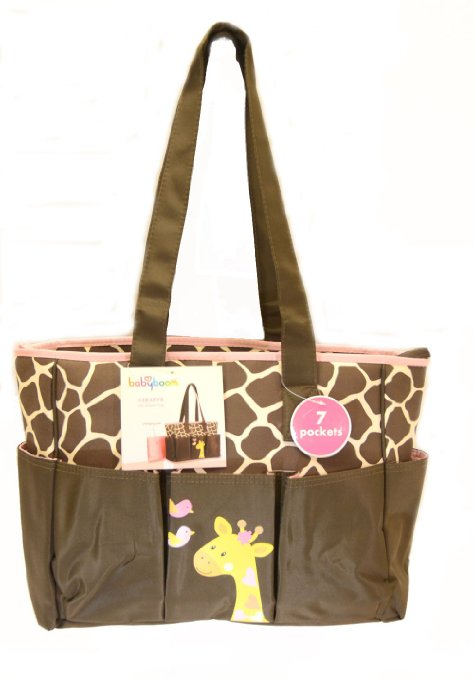 This Is A Very Stylish Diaper Bag The Babyboom Giraffe Tote Measures Roximately 19 X 12 6 It S Plenty Ious Roomy And Will Fit All