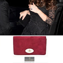 MULBERRY Clutch, ASOS Maternity Dress and STUART WEİTZMAN Pumps Kete Middleton