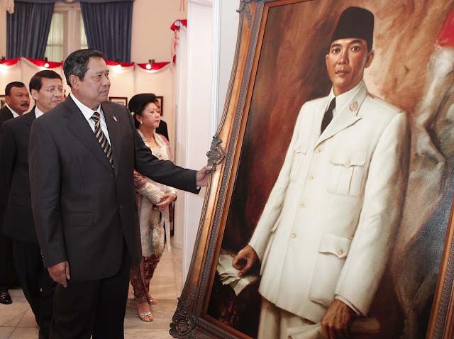 Lukisan Presiden Soekarno