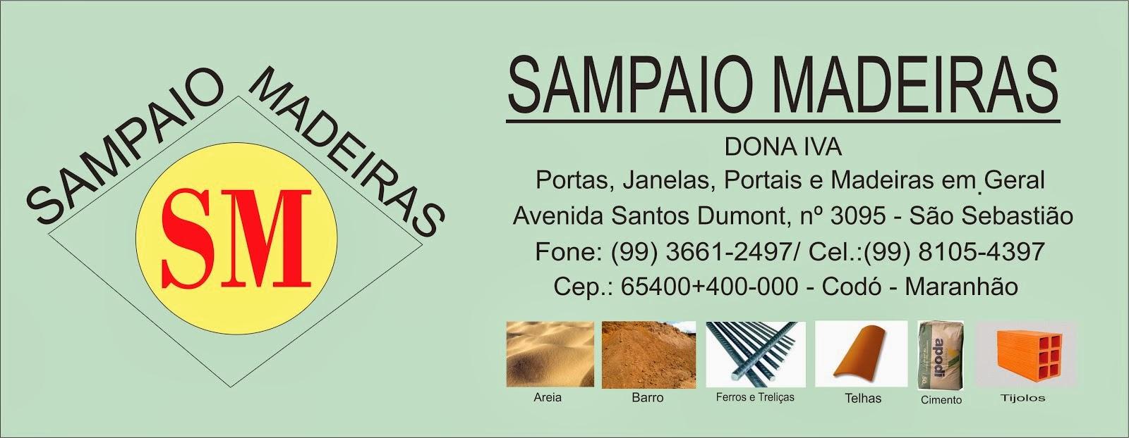 SAMPAIO MADEIRAS - IVA SAMPAIO