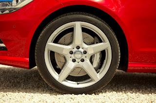 Mercedes cls 500 tyres/wheel - صور اطارات مرسيدس cls 500