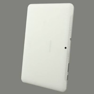 TPU Case (Semacam Silicon Case/ Jelly Case) Dengan Anti Slip Texture Untuk Samsung Galaxy Tab 2 10.1 P5100 - White