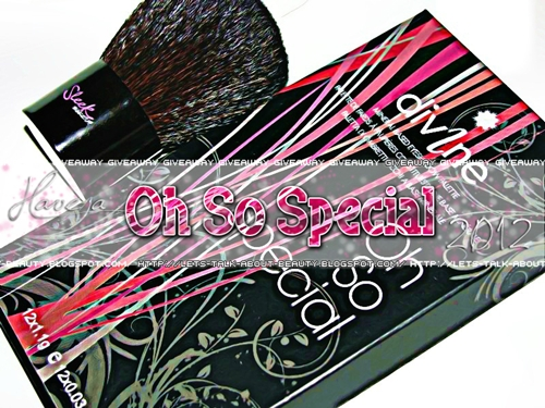 Have a 'Oh So Special' 2012 Giveaway [International] (10/01)