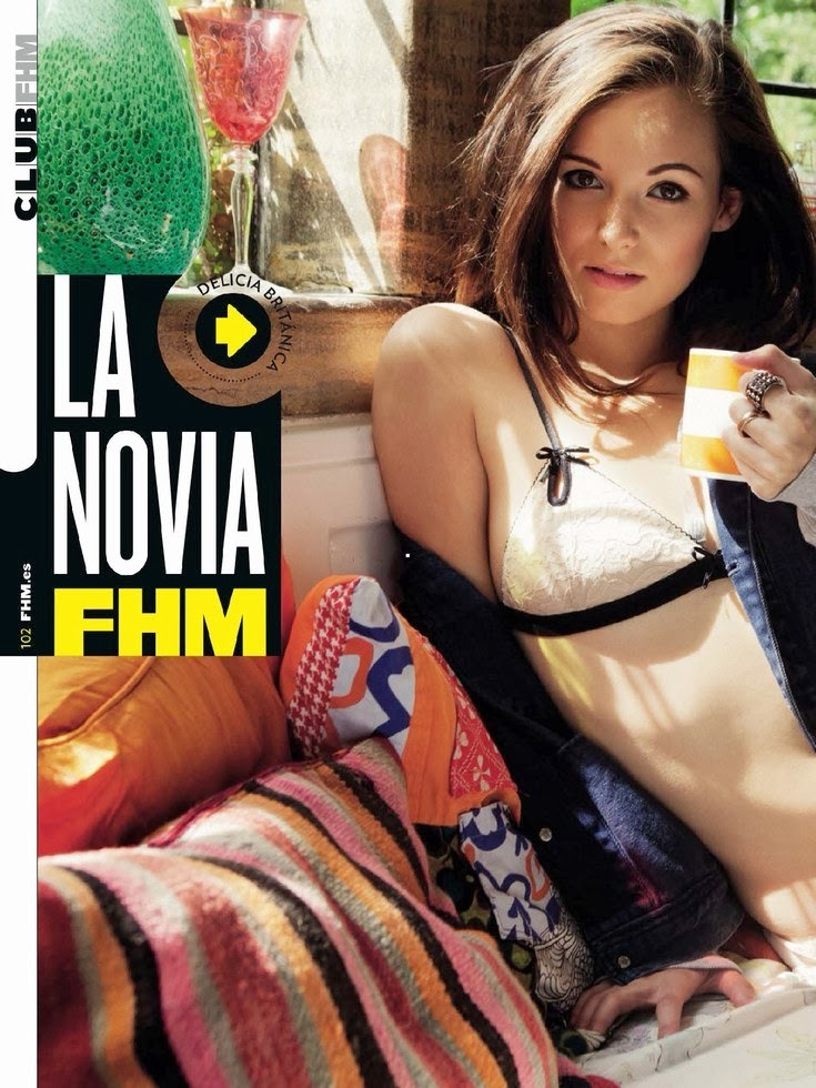 Lauren Loretta HQ Pictures FHM Spain Magzine Photoshoot February 2014