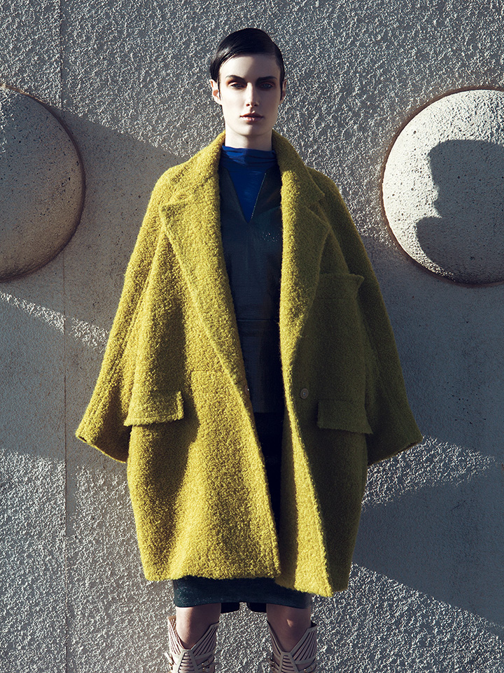 Alek by Raja Siregar for Elle Indonesia, November 2012