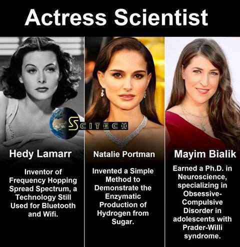 Actress who are Scientist