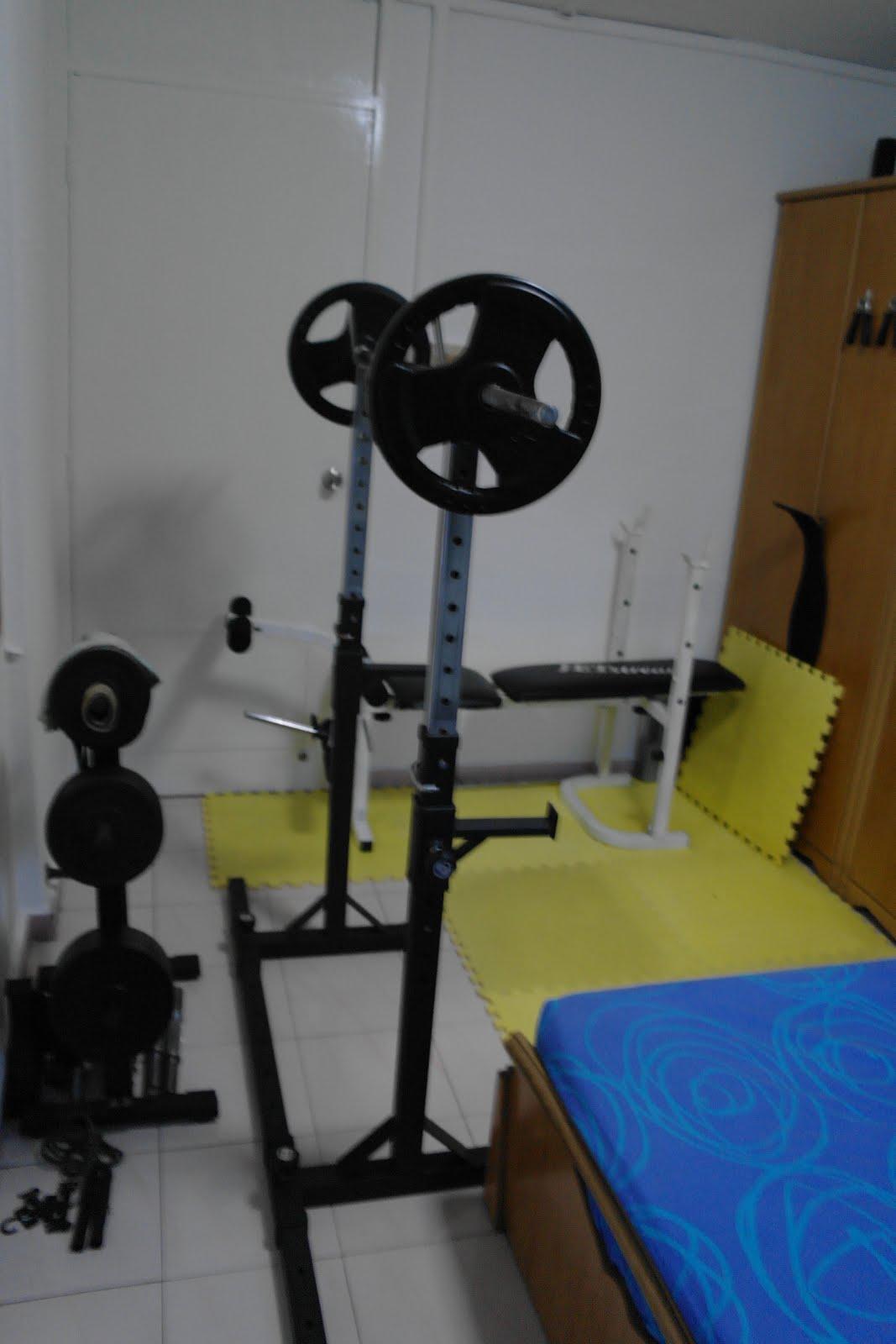 Singapore home gym