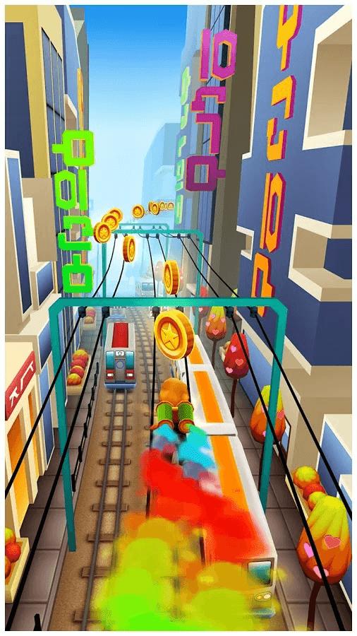 Screenshot Subway Surfers Seoul