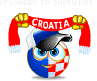 Croatia fan