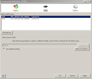 Gambar Setting BIOS PCSX2