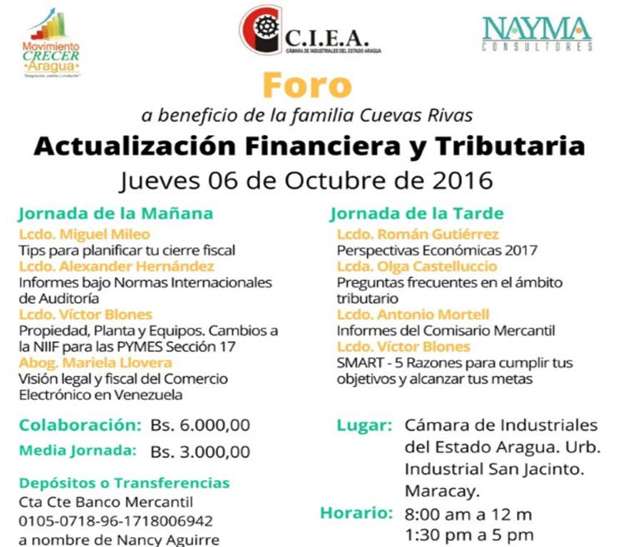 Foro Financiero Tributario