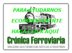 COLABORE ECONÓMICAMENTE CON CRÓNICA FERROVIARIA