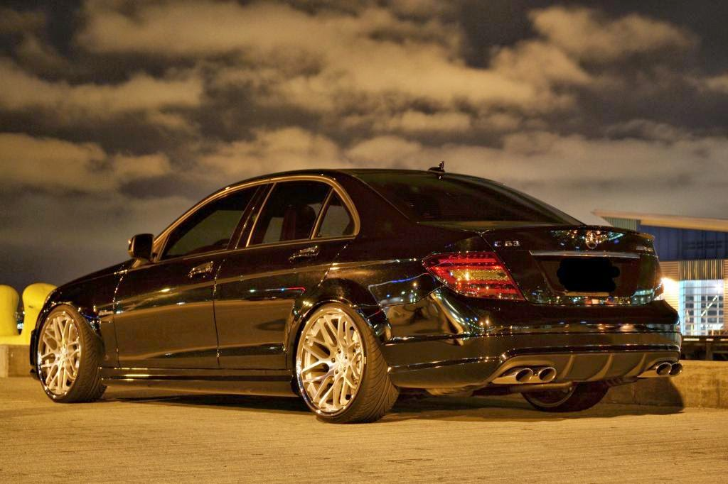 Mercedes benz w204 c63 amg on r20 vertini concave for Mercedes benz rims c300