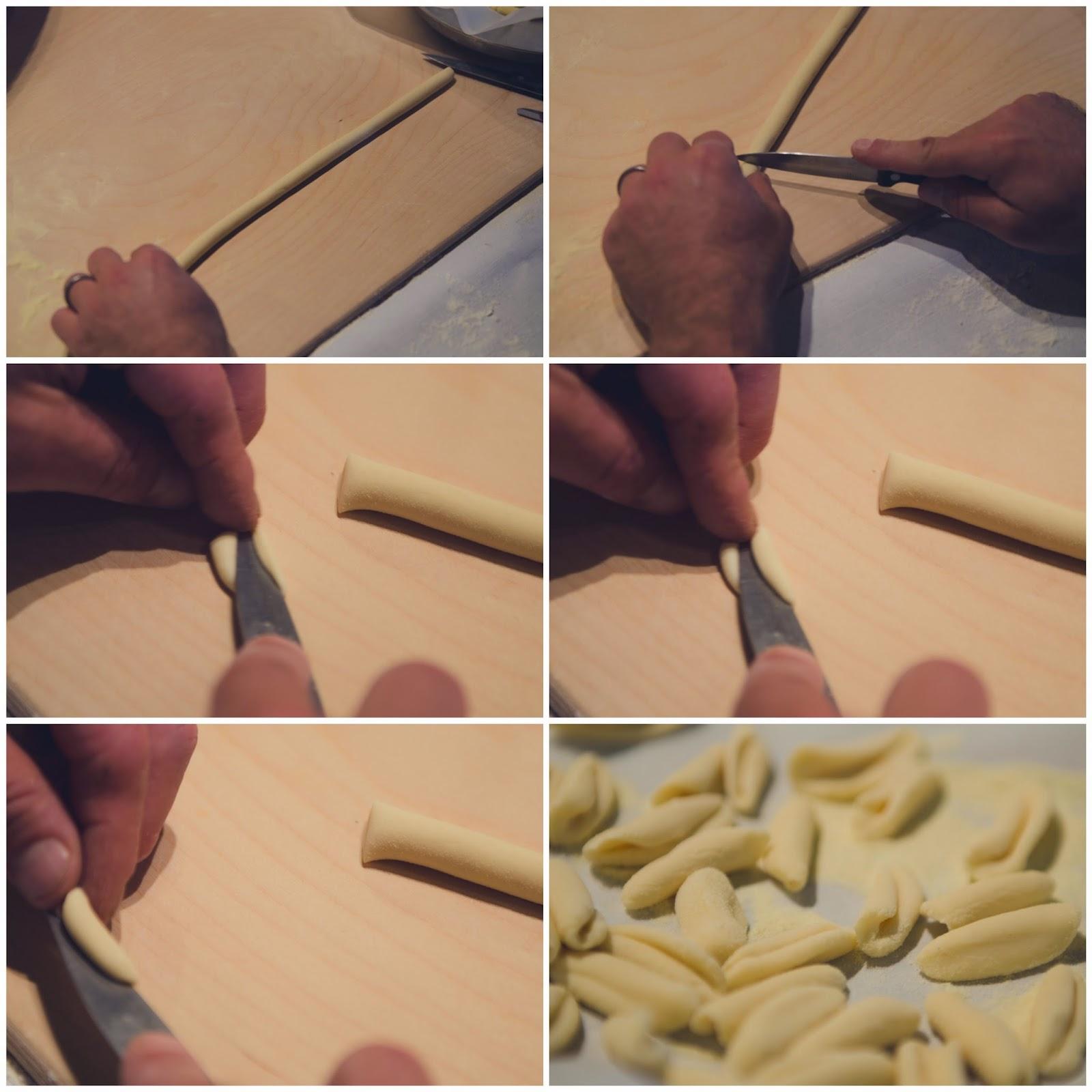 Cavatelli Pasta - Semolina Dough