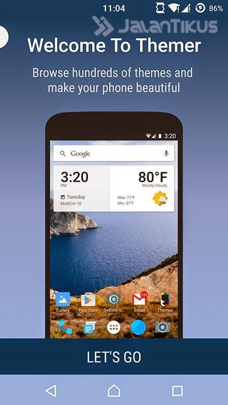 Trick Merubah Tampilan Handphone Android Menjadi Nokia Jadul