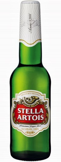 bottle Stella Artois Artios Beer gluten free low lager UK cidre Belgium Belgian bier celiac test result level